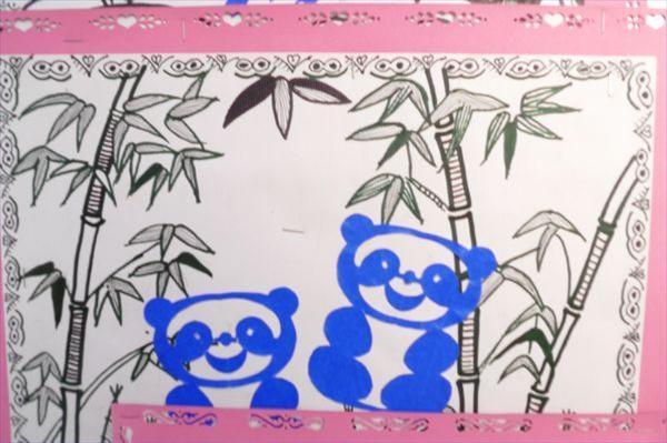 幼儿剪纸拼贴画-章丘市济南市章丘市七彩幼儿园 招生 收费 幼儿园大全