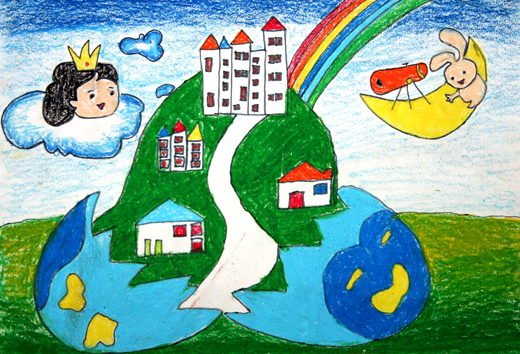 幼儿园天气预报墙面布置图片中班