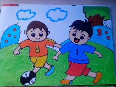 让幼儿主动与作品对话——大班美术欣赏活动《快乐与伤心的感觉》案例