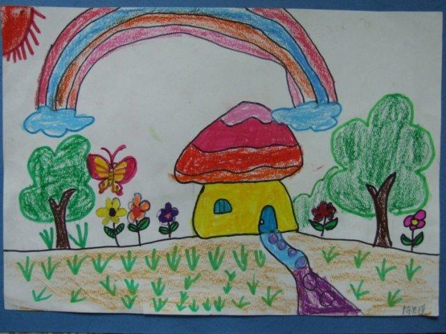 幼儿中班画画简单图片