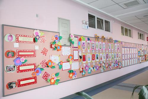 幼儿园作品作品展示区